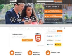 zanox-webseite