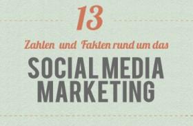 [Infografik] 13 Zahlen und Fakten – Warum sich Social Media Marketing für Sie lohnt