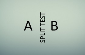 Splittest-Ergebnisse eines Optin-Formulars