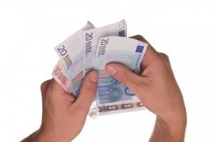 Banknoten-10Euro-20Euro