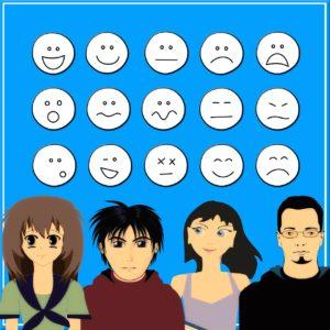 Emotionen-Smileys