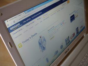 Webseitenanzeige-auf-Bildschirm