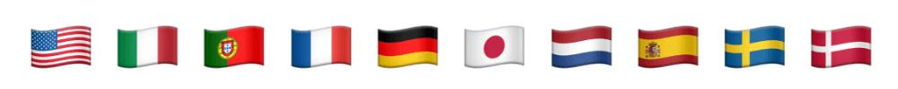 Länderflaggen, UI Sprachen bei Kinsta