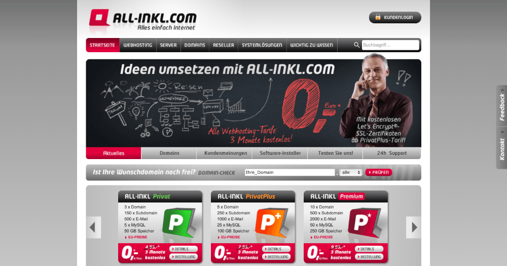 allinkl-wordpress-hosting