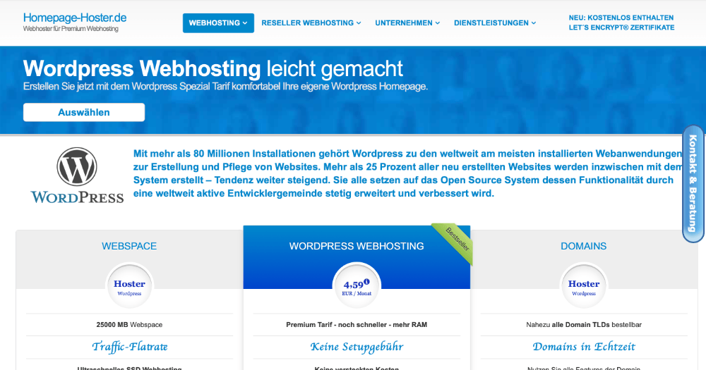 homepagehoster-wordpress-hosting