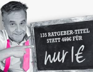 135 Ratgeber eBook Titel für 1 Euro, mit PLR Lizenz