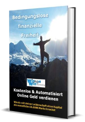 Buchcover: Bedingungslose finanzielle Freiheit