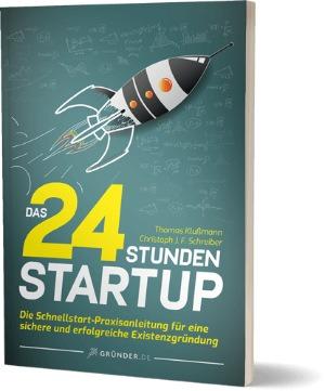 Buchcover: Das 24 Stunden Startup
