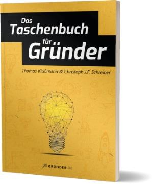 Buchcover: Das Taschenbuch für Gründer