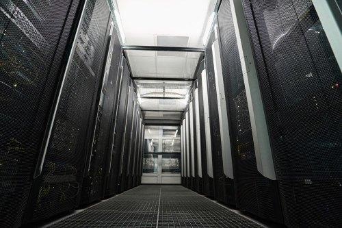 Serverraum in einem Datenzentrum