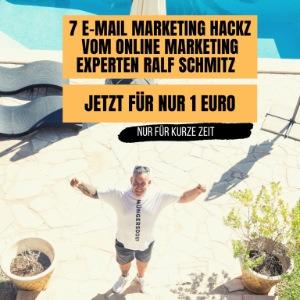 eCover: 7 E-Mail-Marketing Hacks von Ralf Schmitz