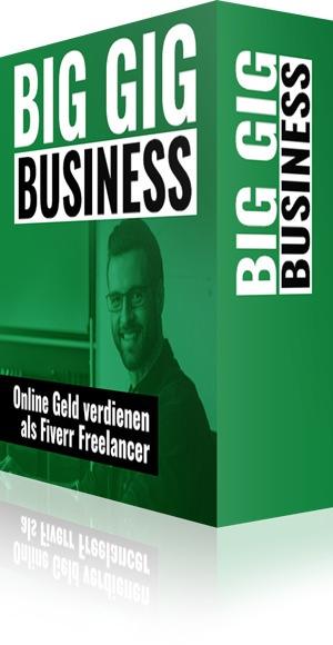 eCover: Big Gig Business, als Fiverr Freelancer Geld verdienen