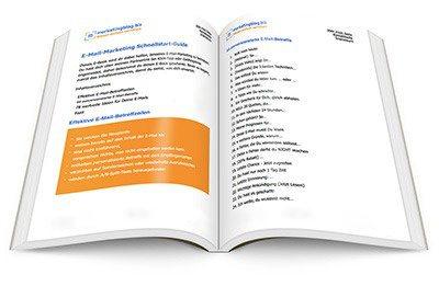 E-Mail-Marketing Schnellstart Guide (eBook Cover)